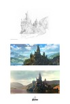 Harry Potter Artwork Harry Potter Artwork Creating Hogwarts and The Black Lake
